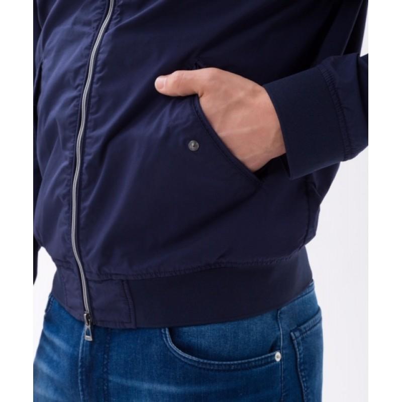 Blusão azul Brax